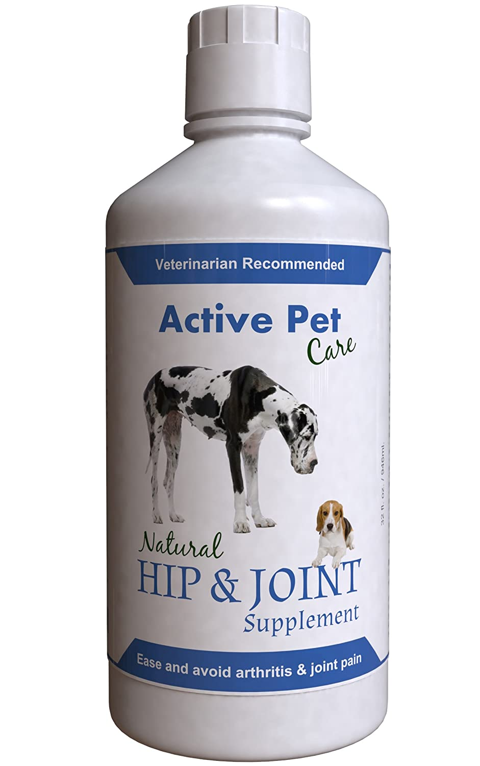 Active Pet Care Hip and Joint Supplement for Dogs, 32 oz