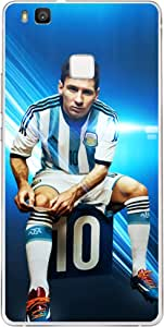 ColorKing Football Messi Argentina 06 Blue shell case cover for Honor 9 Lite
