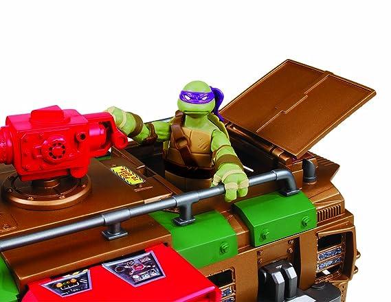 Tortugas Ninja - Autocaravana Shell Raiser (Figuras no incluidas)