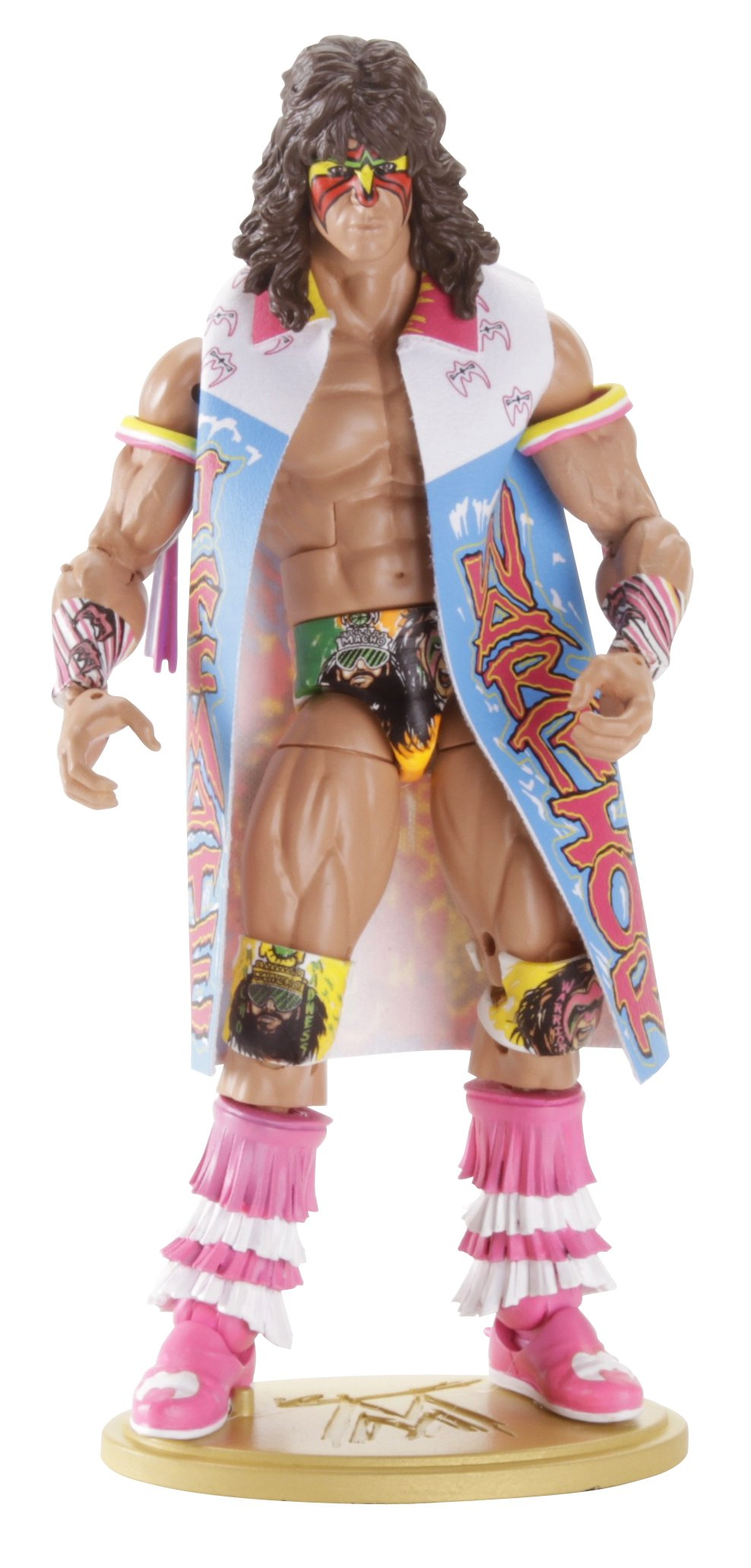 WWE Defining Moments Ultimate Warrior - Wrestlemania 7 Collector Figure Series #2 by Mattel