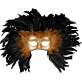 Forum Elaborate Feather Venetian Mask