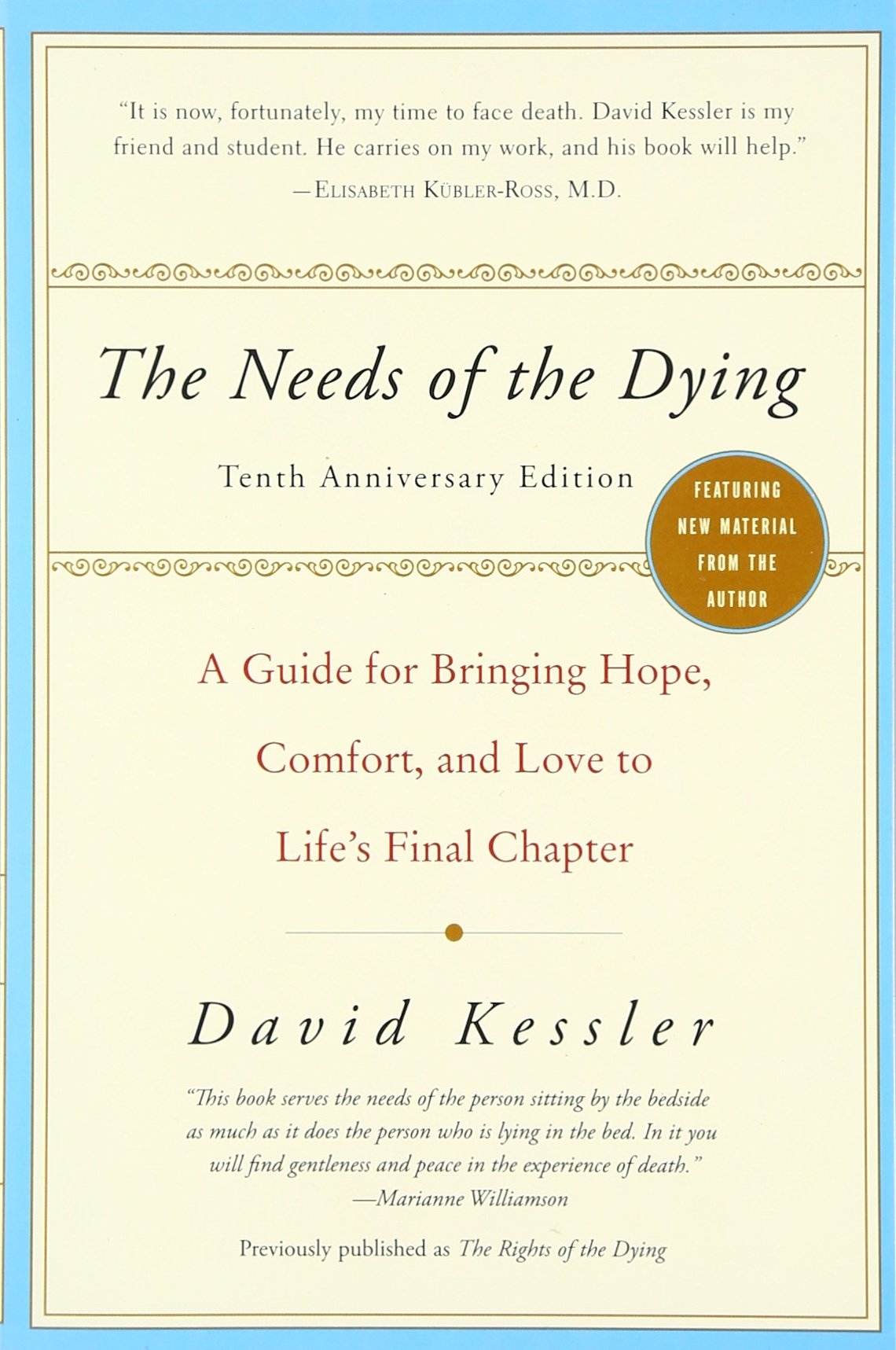 Needs Dying Bringing Comfort Chapter