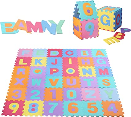 20 Pack Large Foam Mats Toy Play Safe Floor Create /& Build eva Baby Infant New