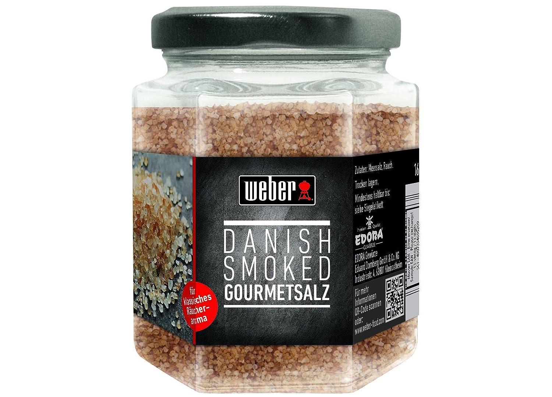 Weber Danish Smoked Gourmetsalz, 1er Pack (1 x 160 g): Amazon.de ...