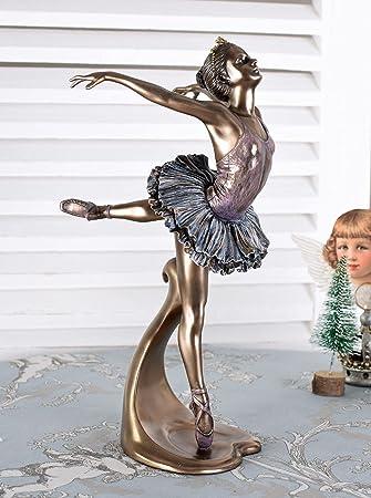 Ballettt/änzerin Figur Ballerina Schwanensee Primaballerina Skulptur Palazzo Exklusiv