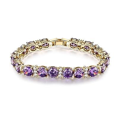 GULICX Swarovski Element Crystal Women Roman Bracelet Jewellery RJNXlRZj