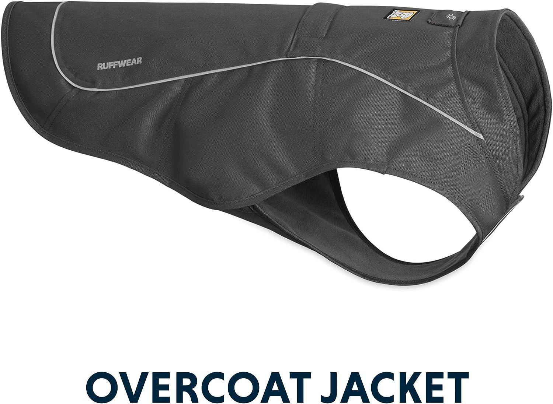 RUFFWEAR Abrasion-Resistant Dog Jacket with Fleece Lining