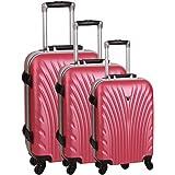 Set de 3 valises 4 roues prague