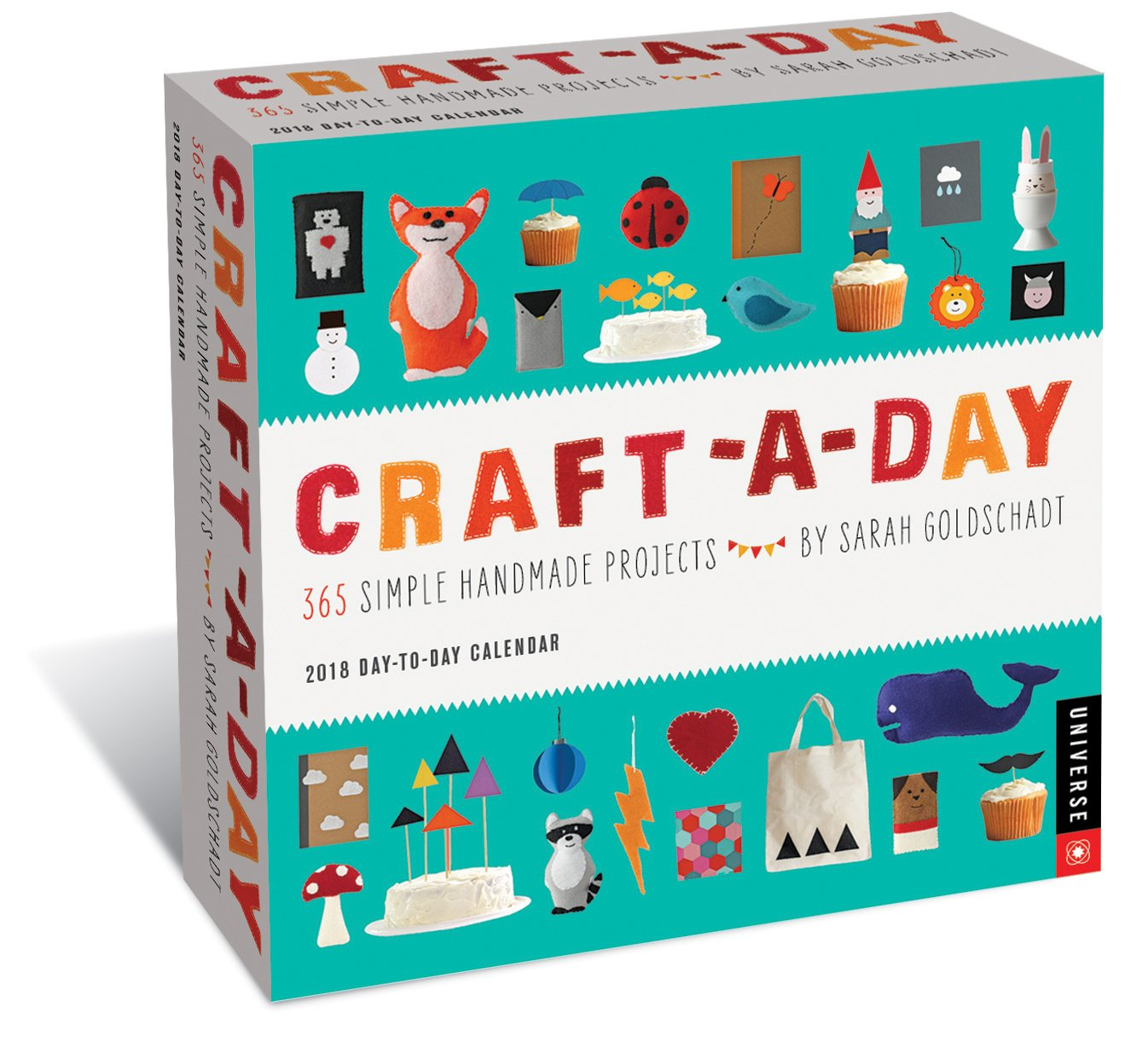 Craft-a-Day Day-to-Day Calendar: 365 Simple Handmade Projects