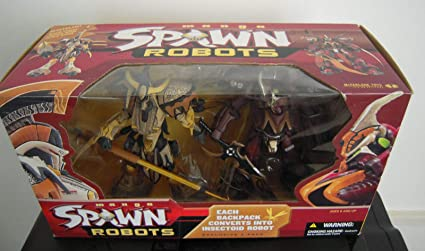 Manga SPAWN ROBOTS Exclusive 2 pack Action figure McFarlane Samurai Manga