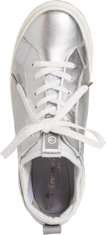 Tamaris 1-1-23716-24 950, Basket Femme Silver White
