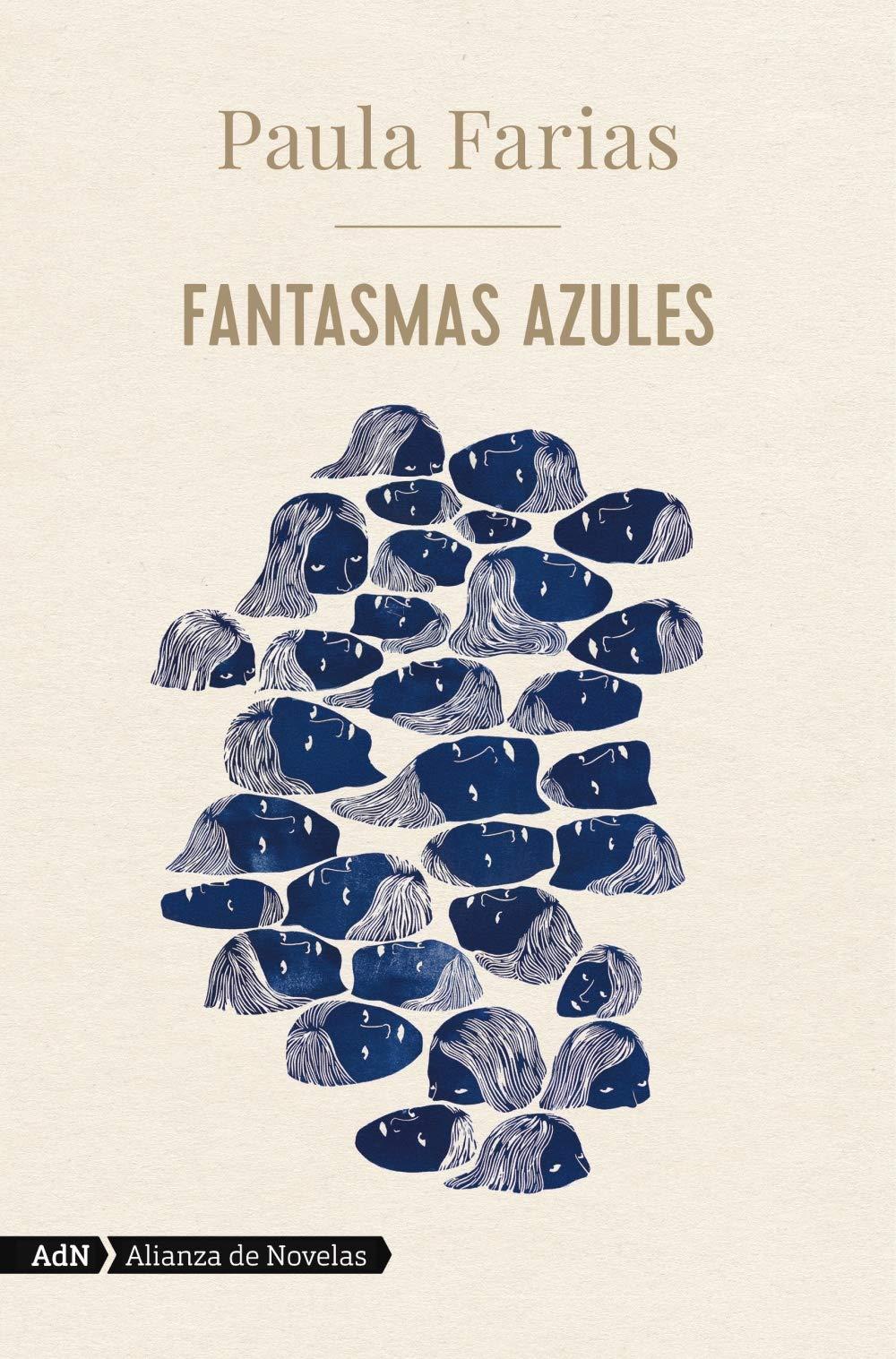Fantasmas azules, de Paula Farías - Libros para el Día del Libro
