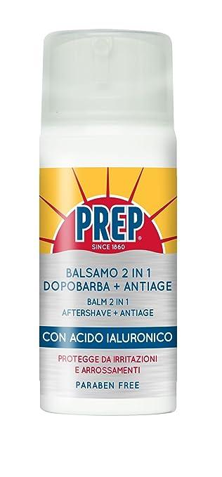 9 opinioni per Prep Trattamento Dopobarba Acido Ialuronico- 80 ml