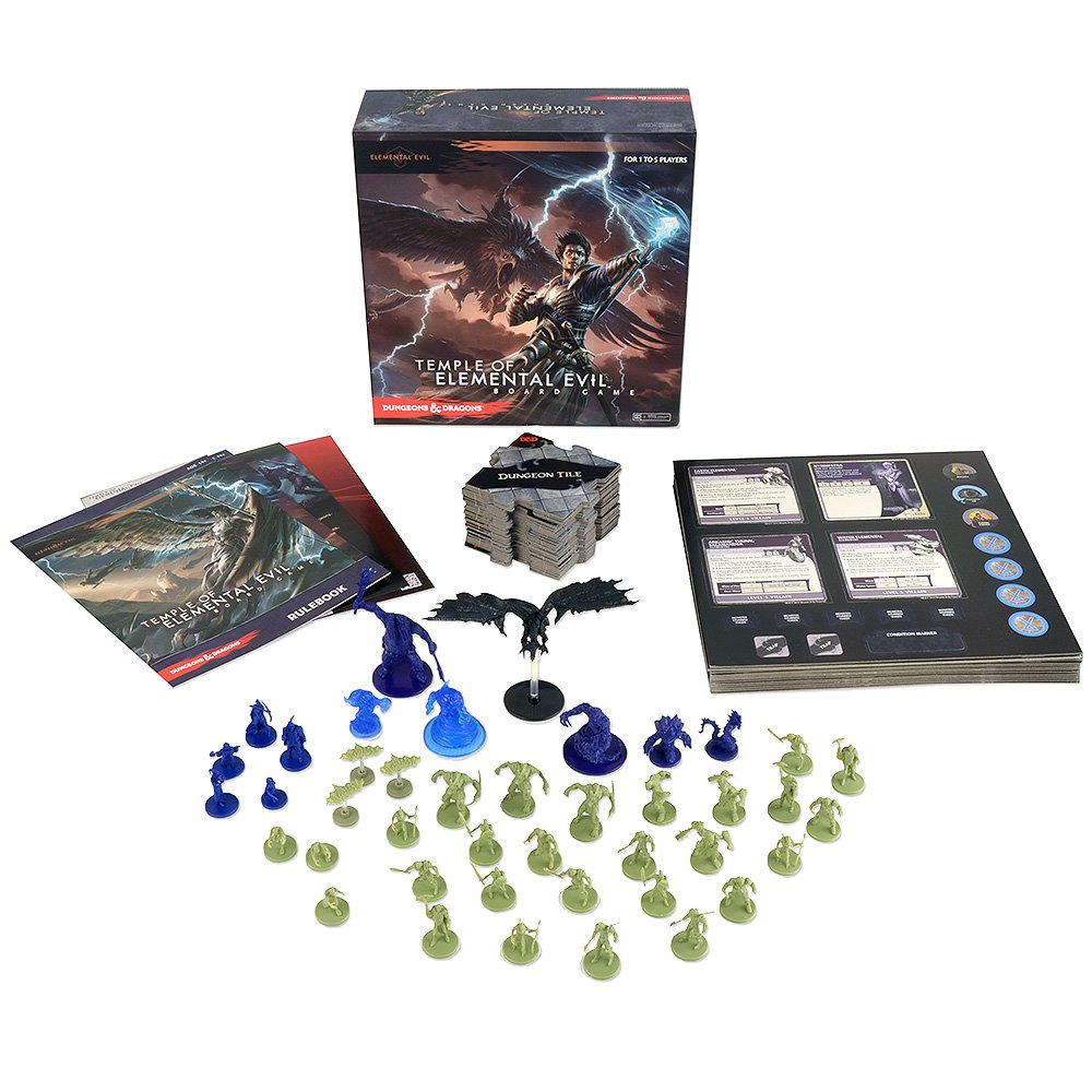 Evil Board Game With Dice And Cards Full