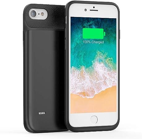 FLYLINKTECH - Cover batteria per iPhone 6 Plus/6S Plus/7 Plus/8 Plus, batteria esterna ricaricabile, caricatore e custodia per telefono cellulare 2 in ...