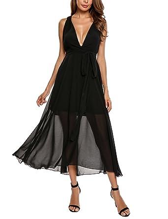 42f1b46124a Beyove Women s Chiffon Short Sleeve O Neck Plus Size Flare Flowy ...