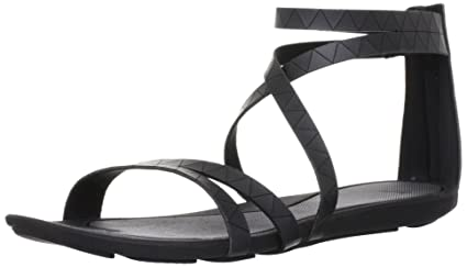 Nike Damen Sandale Halcyon Gladiator 487961 39 Schwarz