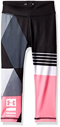 Under Armour Girl`s Jersey Leggings
