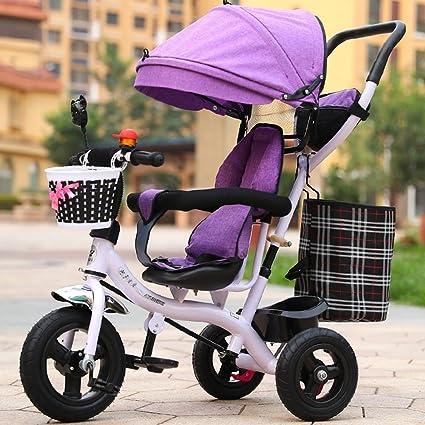 Childrens bike Bicicleta Inflable, Triciclo de los Niños, Carro Ligero, Carro de bebé