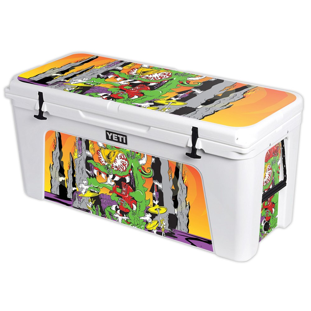MightySkins Protective Vinyl Skin Decal for YETI Tundra 160 qt Cooler wrap Cover Sticker Skins Dragon Rocker