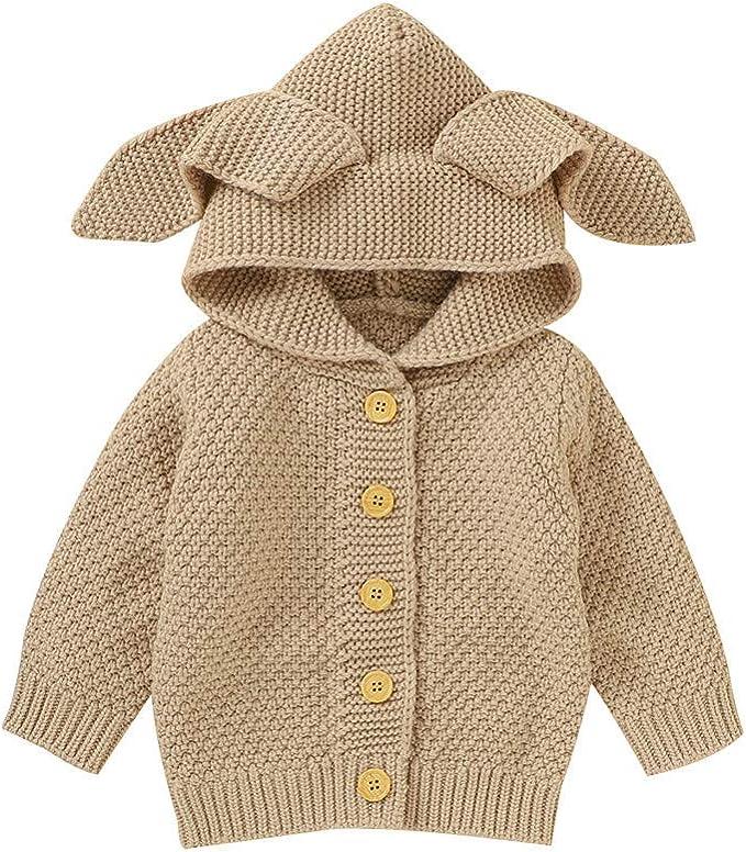 sunnymi Winterjacke M/äntel f/ür Baby Jungen und M/ädchen,0-4 Jahre Kleinkind Baby Jungen M/ädchen Winter Cartoon Winddichter Mantel Kapuze Warme Outwear Jacke