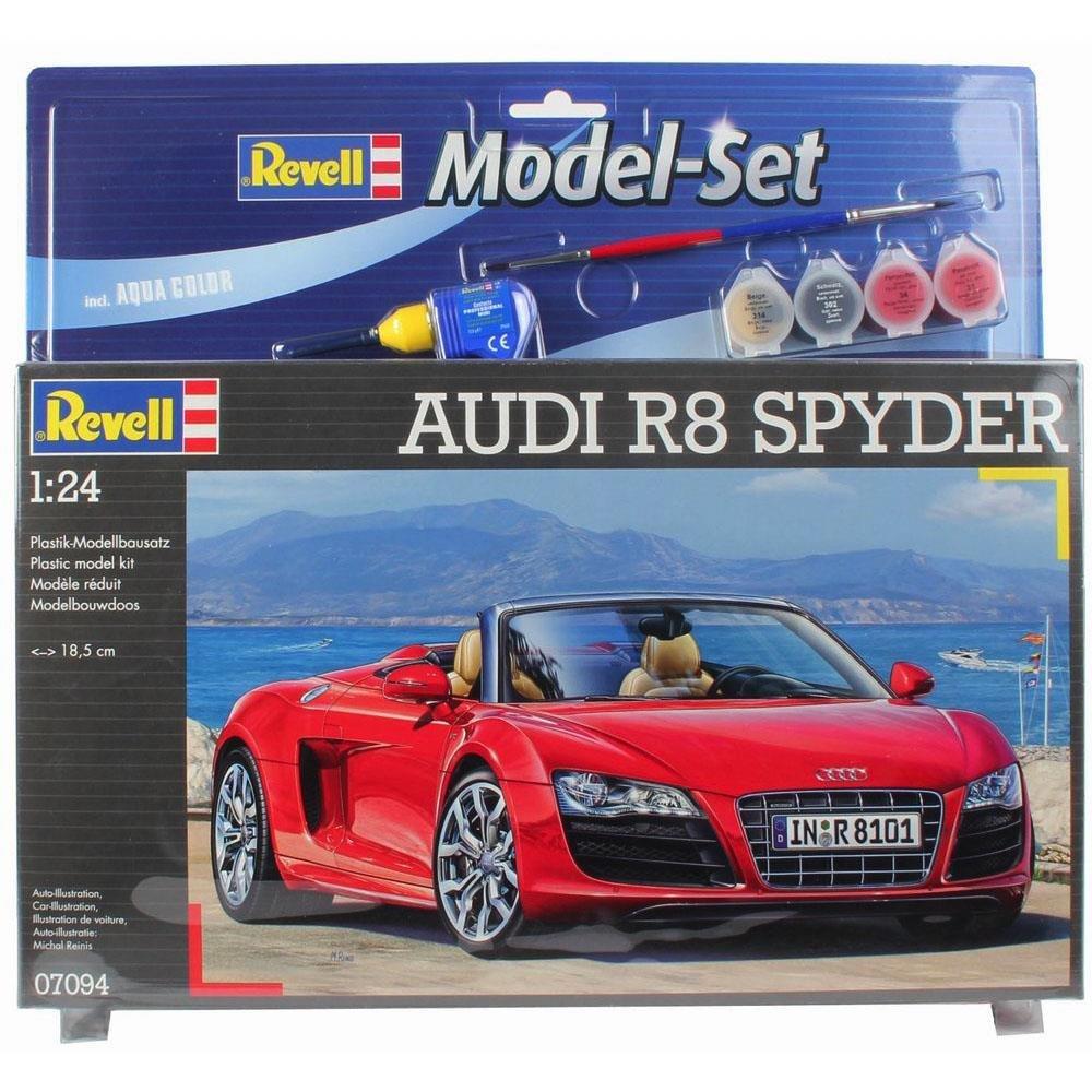 Revell - Maqueta modelo set Audi R8 Spyder, escala 1:24 (67094)