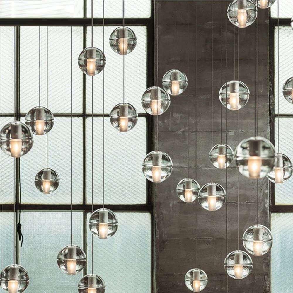 Bocci Colorful Glass ball pendant lamp chandelier of