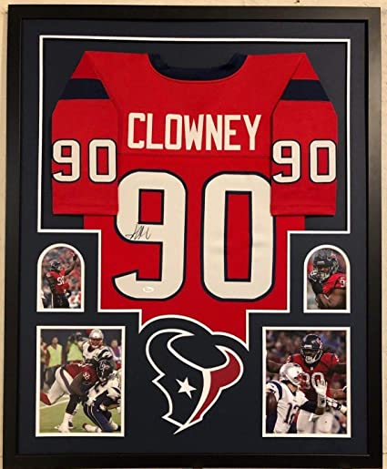 FRAMED JADEVEON CLOWNEY AUTOGRAPHED SIGNED HOUSTON TEXANS JERSEY JSA COA at  Amazon s Sports Collectibles Store 31fe2414d