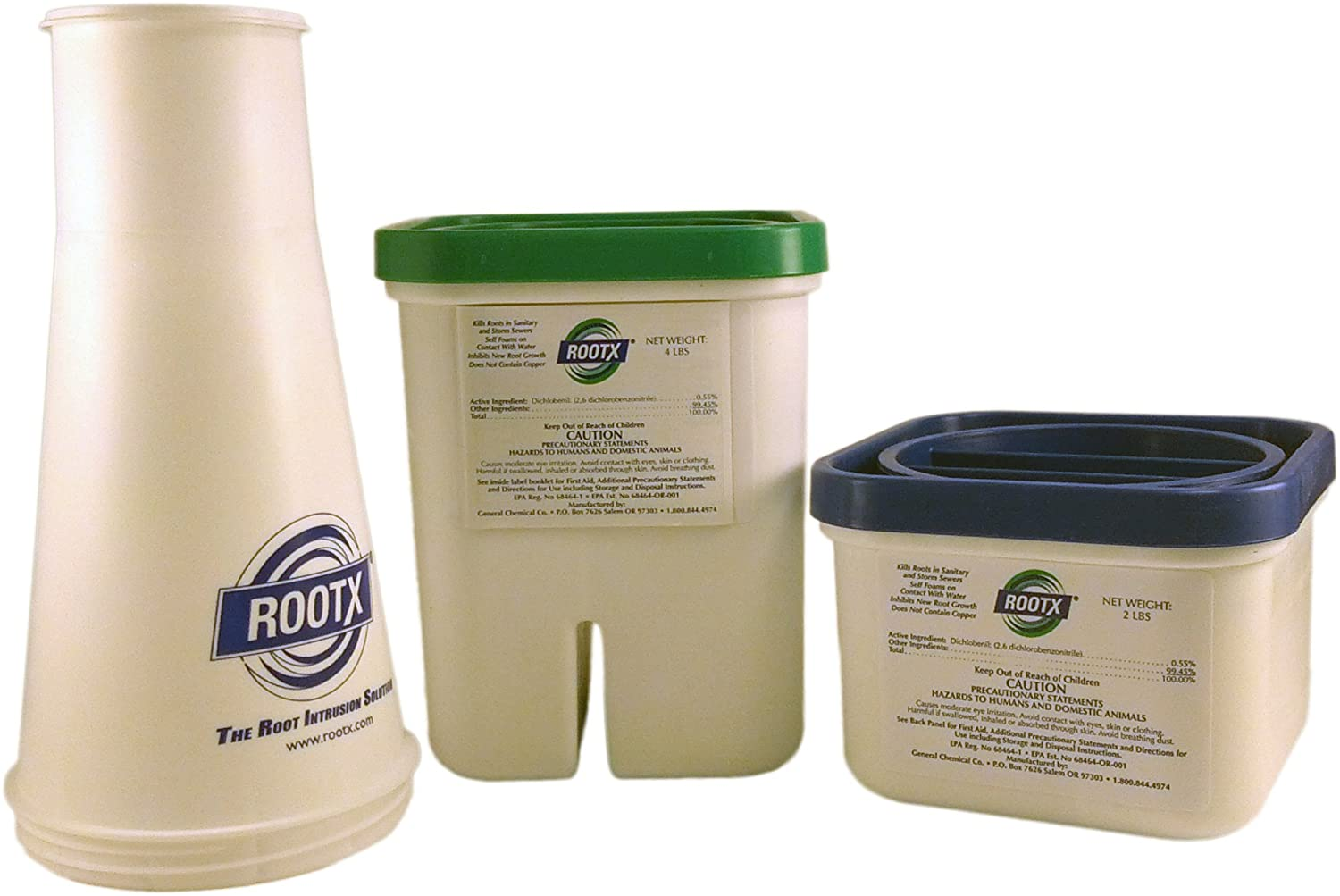 ROOTX The Root Intrusion Solution Kit One 4 Pound Container and One 2 Pound Container Plus