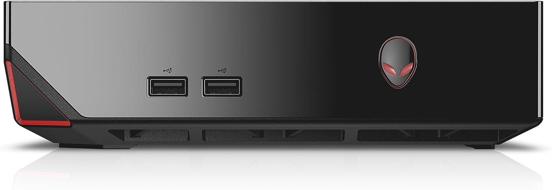 Alienware Alpha ASM100-9000BLK Mini Desktop (Intel Core i7-4785T 2.2GHz Processor, 8 GB DDR3L SDRAM, 1 TB HDD, Windows 10) Black (Renewed)