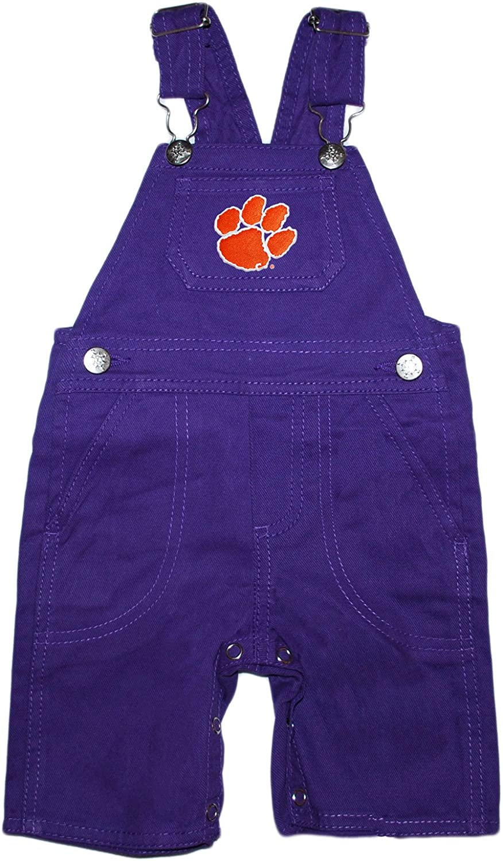 Clemson University Tigers Baby Overalls
