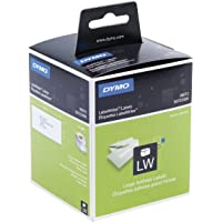 Étiquettes d'Adresse Autocollantes Dymo LabelWriter Grand Format, 36mm x 89mm, Rouleau de 260, Lot de2 (30321)