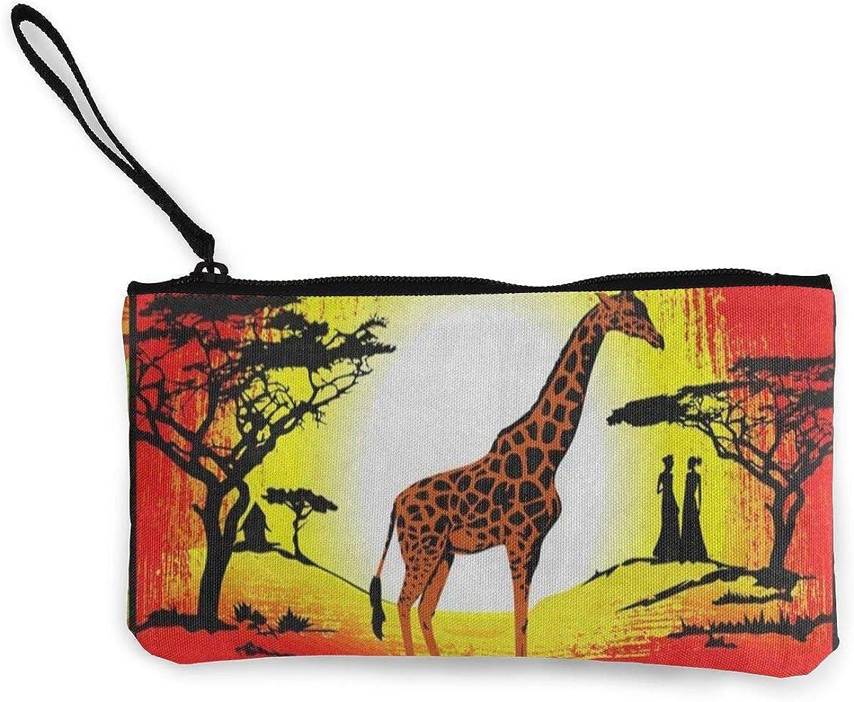 Coin Purse Africa Giraffe...