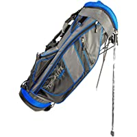 Top-Flite New Golf Tour Stand Mens Lightweight Carry Bag 7 Way Divider Grey Blue