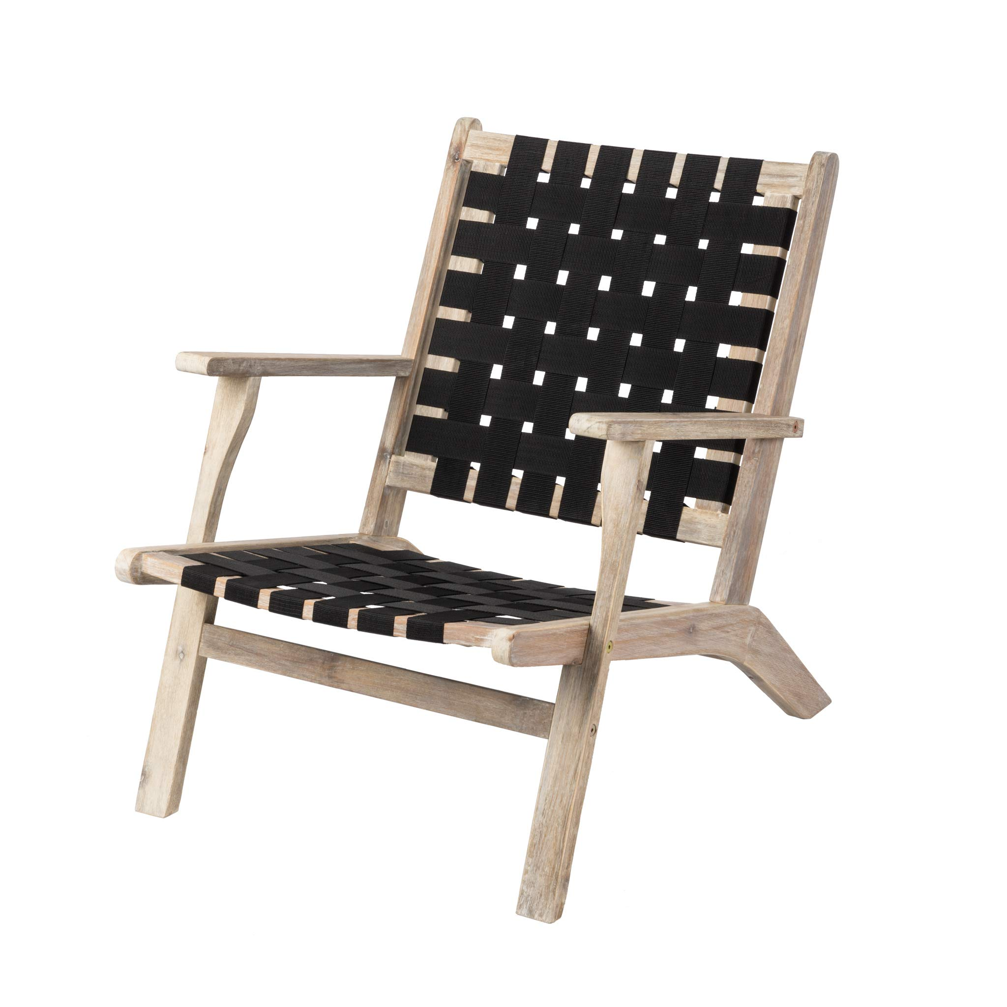 Patio Sense 62772 Vega Driftwood Patio Chair, Natural by Patio Sense