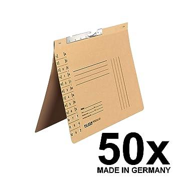FALKEN pendular - Archivador colgante (reciclado de cartón, color gamuza Behördenheftung: Amazon.es: Oficina y papelería