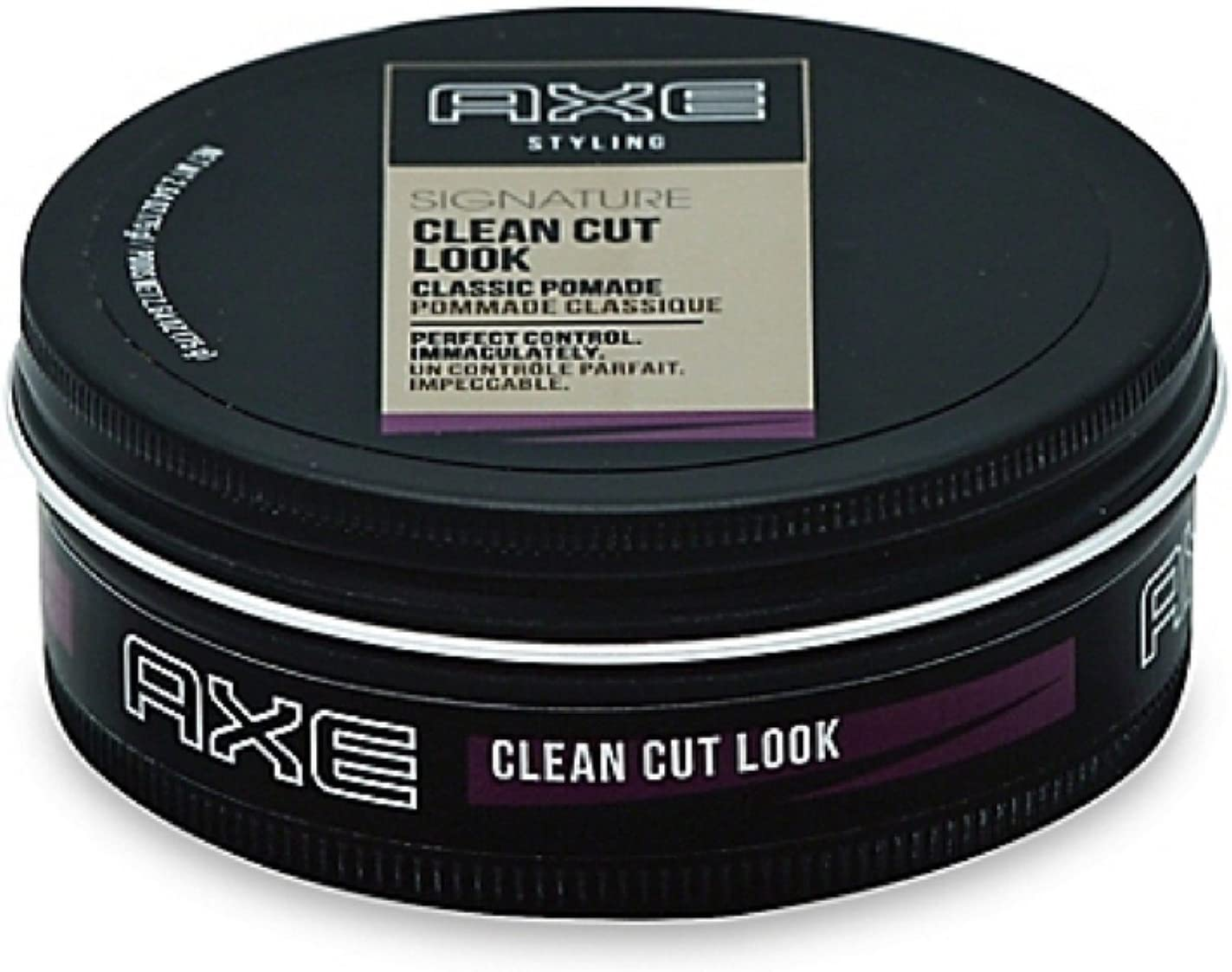Axe Clean Cut Look Hair Pomade Classic 2.64 oz (Pack of 6)