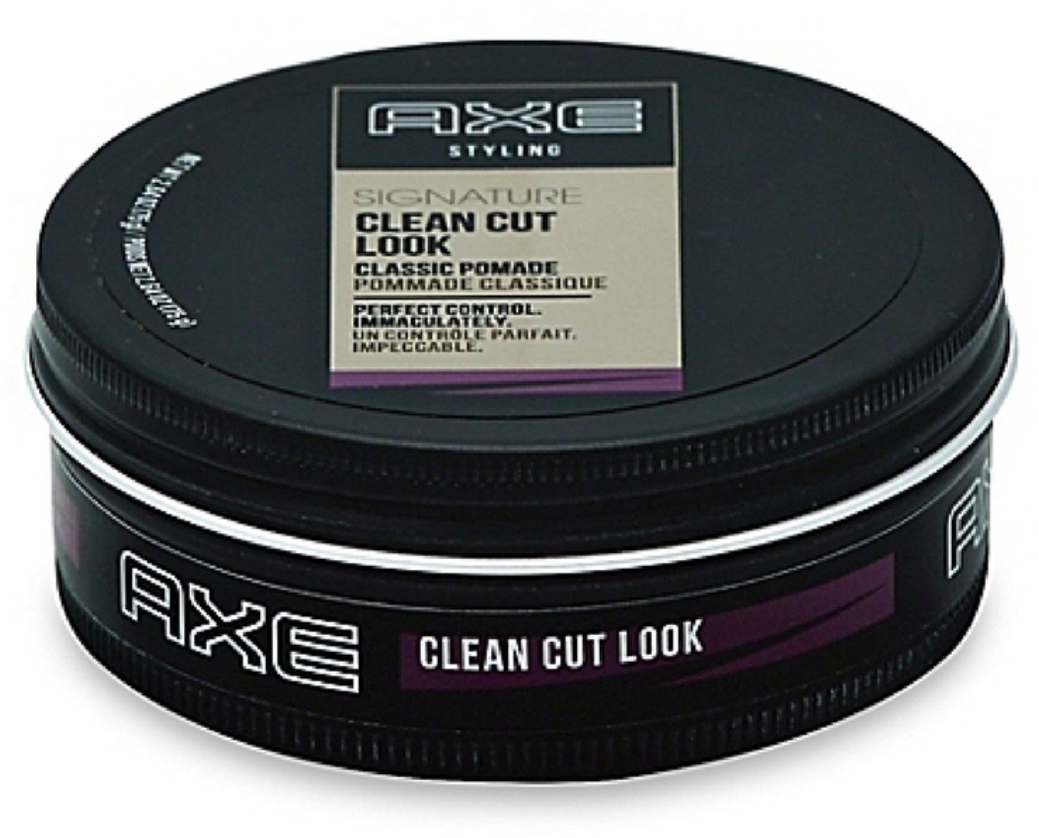 Axe Refined Clean Cut Look Pomade, 2.64oz Per Jar (6 Pack) by AXE