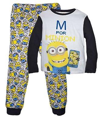 8e0f71fd72 MINIONS - Pijama dos piezas - para niño  Amazon.es  Ropa y accesorios