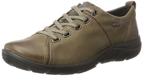LegeroMILANO - Zapatos con Cordones para Mujer, Color Gris, Talla 37.5