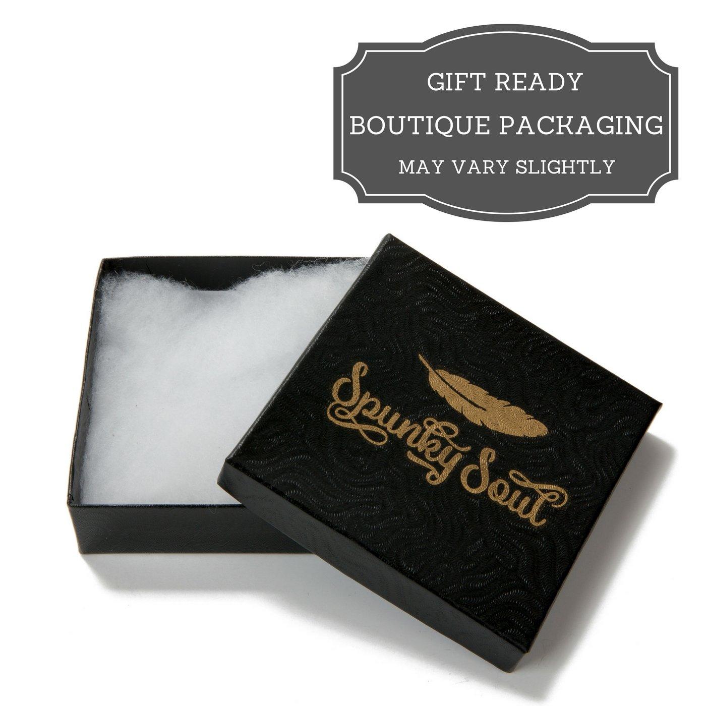 SPUNKYsoul 3 Wrap Dazzling Multi Color Crystal Leather Bracelet Collection by SPUNKYsoul (Image #5)