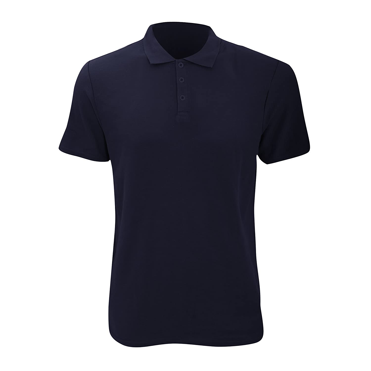 210 GSM Anvil Mens Fashion Double Pique Plain Polo Shirt