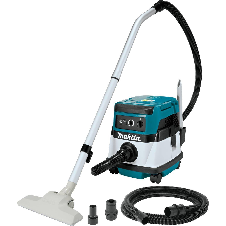 Makita XCV04Z 18V X2 LXT Lithium-Ion Cordless/Corded Dry Vacuum, 2.1 gallon