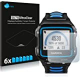 6x Savvies Screen Protector for Garmin Forerunner 920XT Protection Film - Crystal-Clear, Bubble-Free