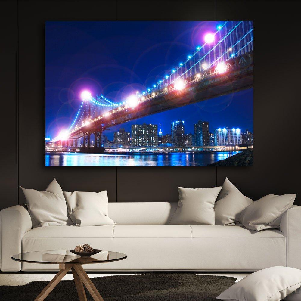Amazon.de: LED Leuchtbild Beleuchtung Wohnzimmer Dekoration ...