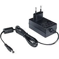 Poppstar Universal AC DC Netzteil, Steckernetzteil 12V 2A (2000mA, 5,5/2,5mm) Adapter - Stromadapter für externe Festplatten-Gehäuse, Dockingstation uvm., 150cm