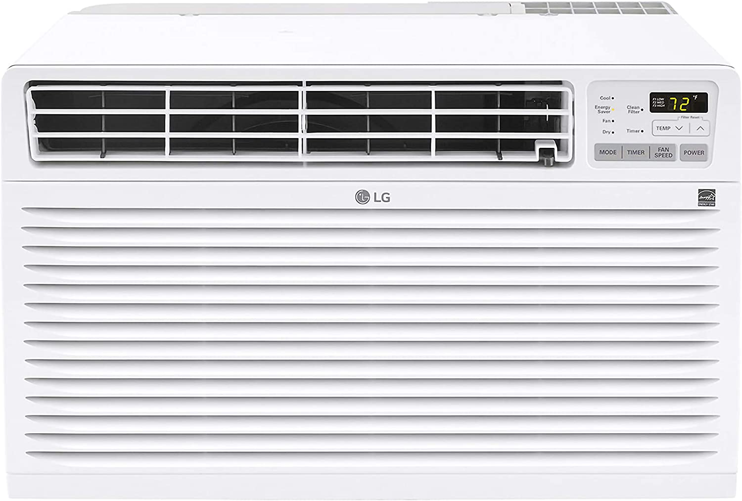 LG 14,000 BTU 230V Wall Air Conditioner, White