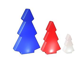 Weihnachtsbeleuchtung Akku.Outdoor Led Garten Lampe Tanne Mit Akku Und Farbwechselfunktion