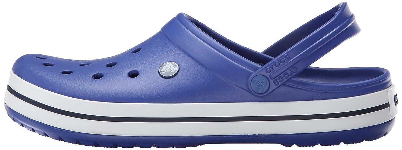Crocs Unisex-Erwachsene Clogs Crocband Clogs Unisex-Erwachsene Blau (Cerulean Blau/Navy) 7c19eb