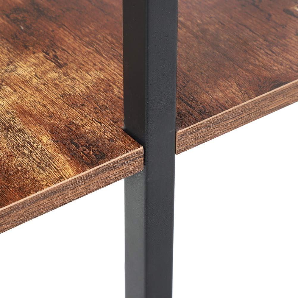 Ausla Estanter/ía de Escalera de Pared Estilo Industrial Dormitorio Cocina 184 x 60cm Estanter/ía de Almacenaje de 5 Niveles para Sal/ón
